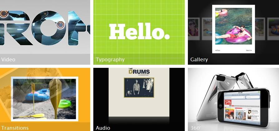 Apple met le HTML 5 à l'honneur