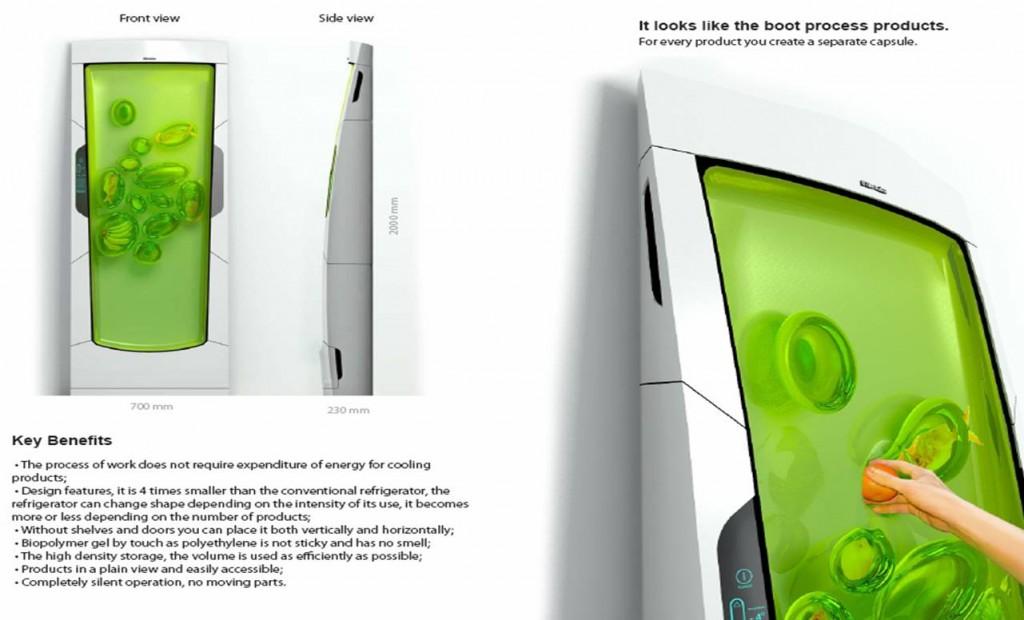 Bio robot refrigerator le frigo 2 0 for Bio robot fridge cost