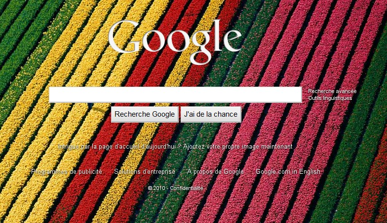 Google lance le background personnalisable
