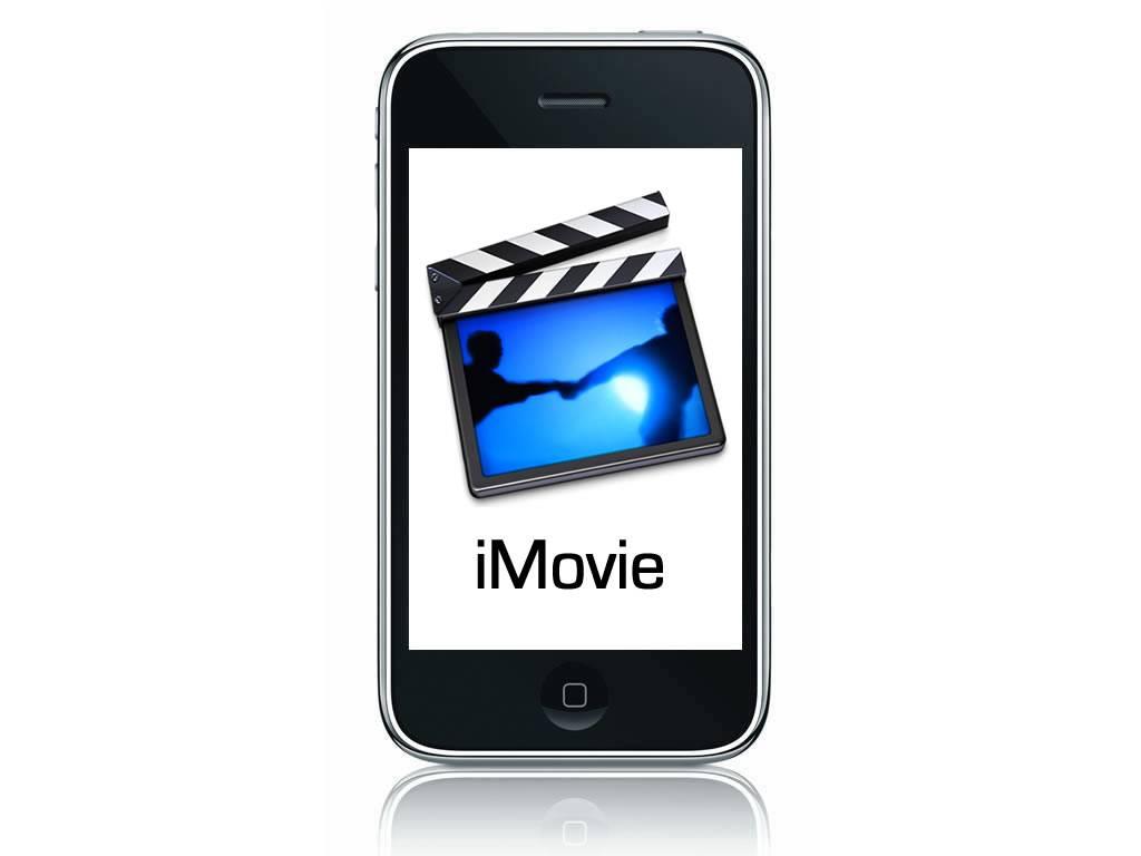 iMovie seulement disponible sur iPhone 4