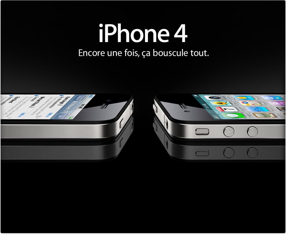 iPhone 4 : toutes les spécifications