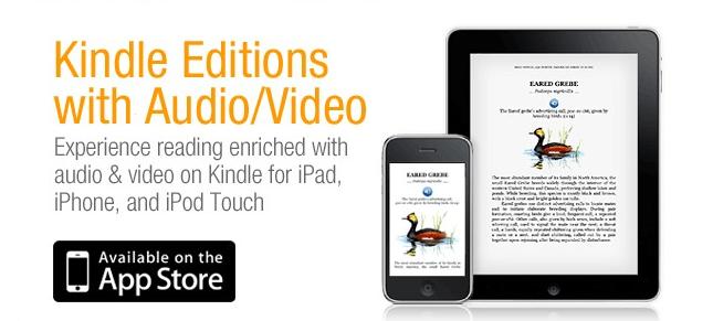 Kindle Editions : de la vidéo et du son dans ton Kindle