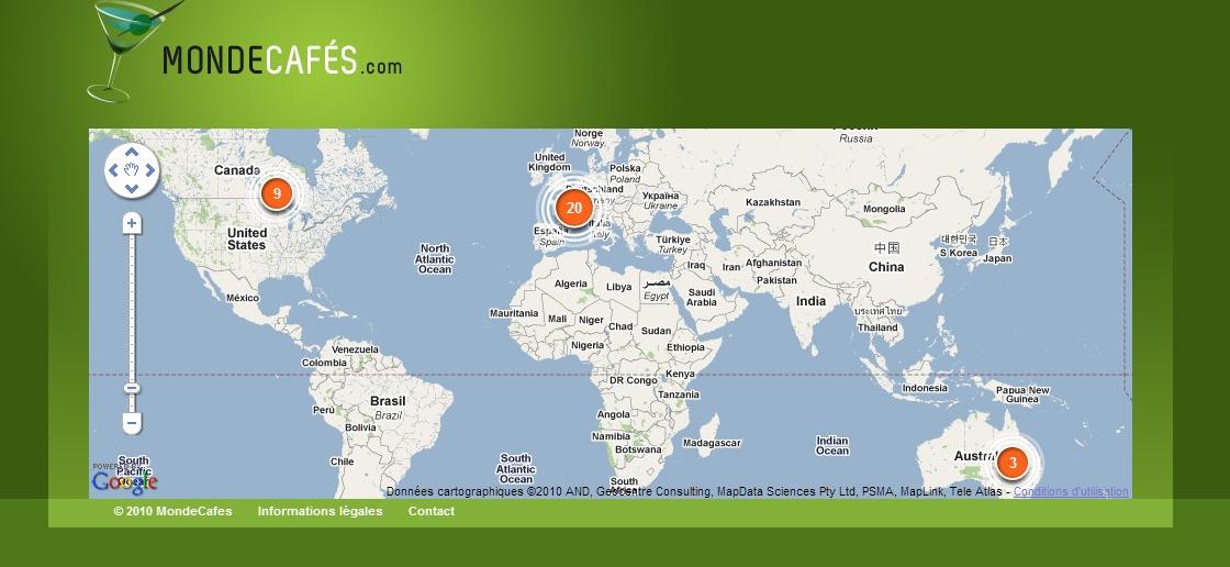 MondeCafés, un guide urbain pour trouver de bonnes adresses