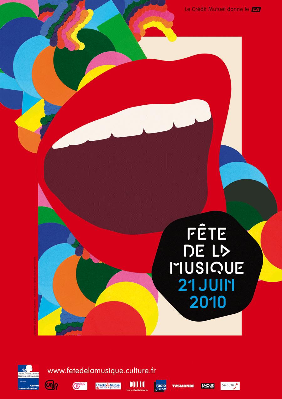 Le programme de la fête de la musique 2010 sur le web et sur l'iPhone