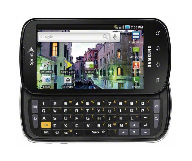 Samsung Galaxy S Pro : un smartphone doté d'un clavier coulissant