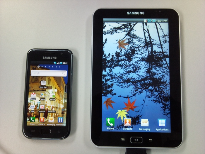Samsung Galaxy Tab : une tablette tactile sous Android