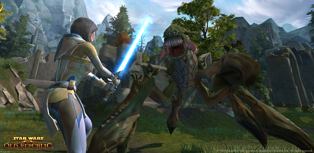 Star Wars The Old Republic : un nouveau trailer