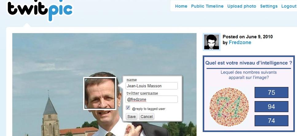 """Twitpic ajoute le """"Face Tagging"""""""