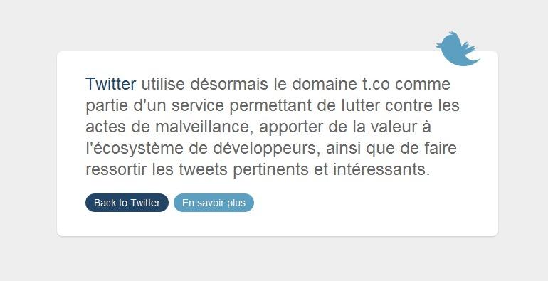 Twitter va bientôt intégrer un raccourcisseur d'URL