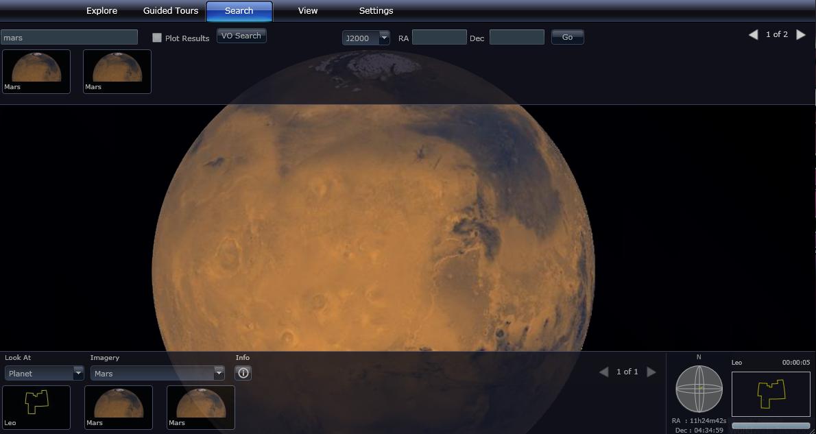 Visitez Mars grâce à la NASA et à Microsoft