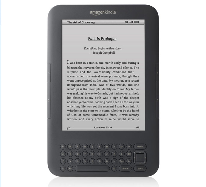 Amazon lance un nouveau Kindle