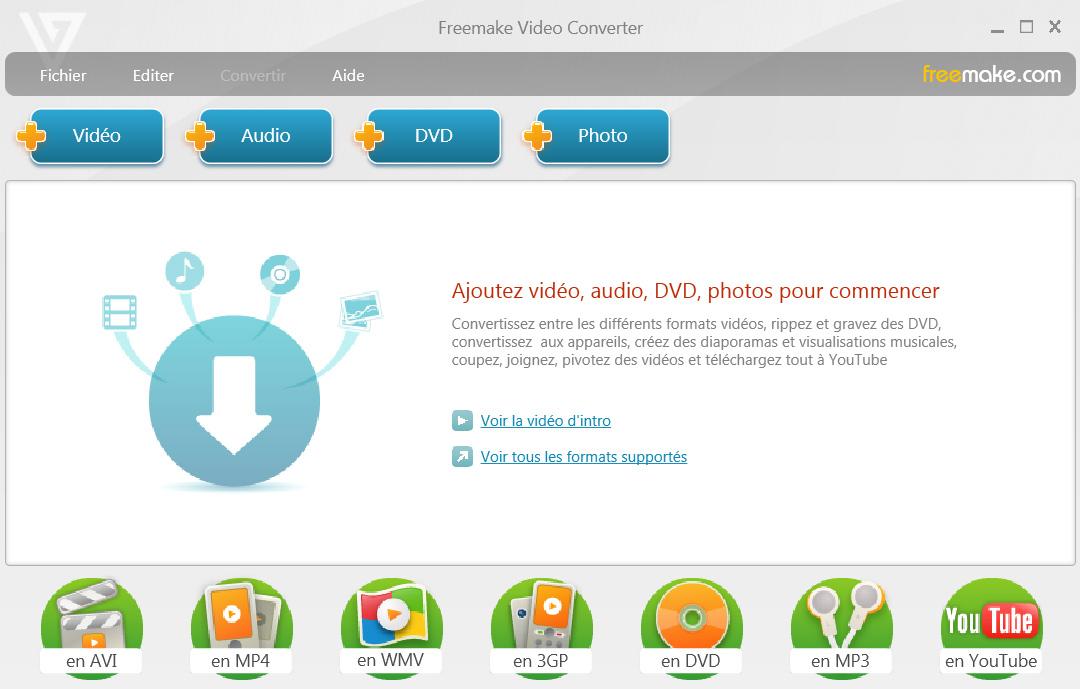 Freemake Video Converter, un logiciel de conversion vidéo gratuit