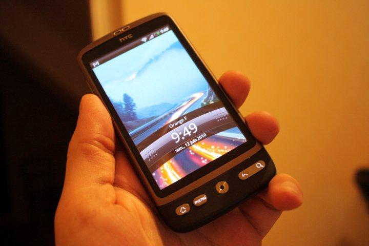 HTC : la mise à jour vers Google Android 2.2 FroYo aura lieu ce week-end