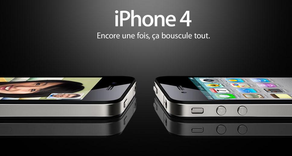 iPhone 4 : Apple s'expliquera demain