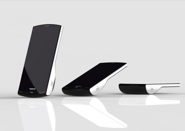 Nokia Kinetic Concept, le mobile qui vous fera chavirer