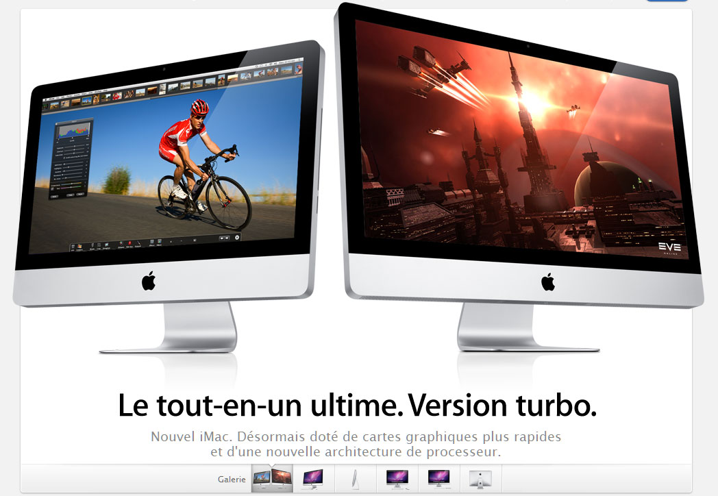 Apple lance son nouvel iMac
