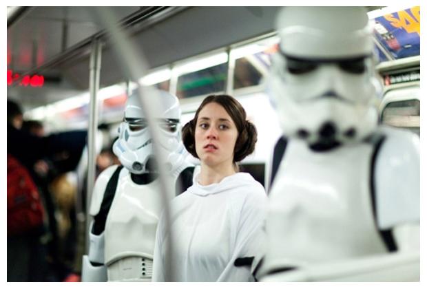 Vidéo : Star Wars dans le métro