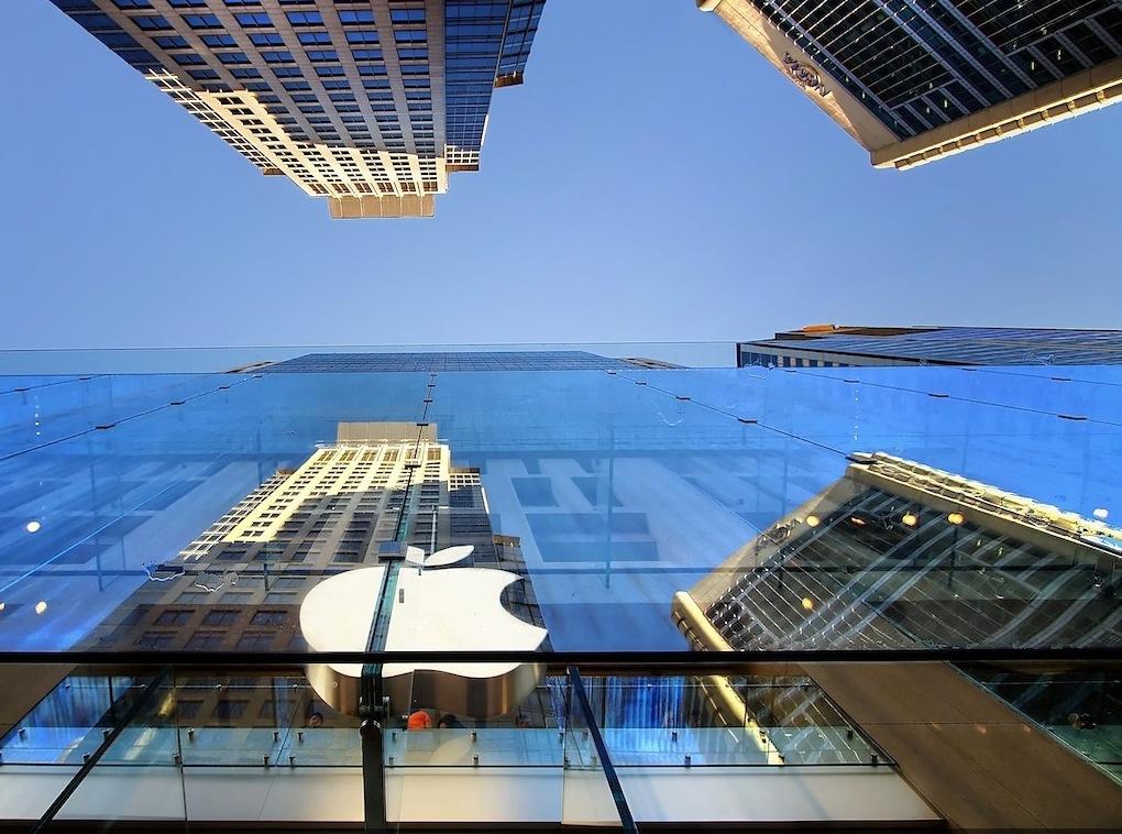 Infographie : les Apple Store dans le monde