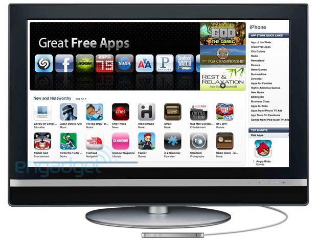 iTV, un Apple TV avec des applications dedans