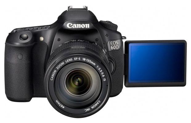 Canon EOS 60D : 18 mégapixels, vidéo hd 1080p et écran de 3 pouces