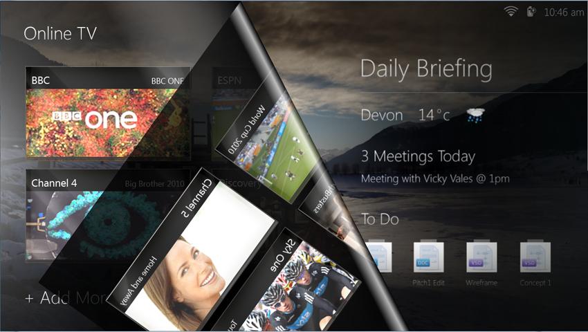 Vidéo : Macallan, une interface pour tablette tactile sous Windows 7