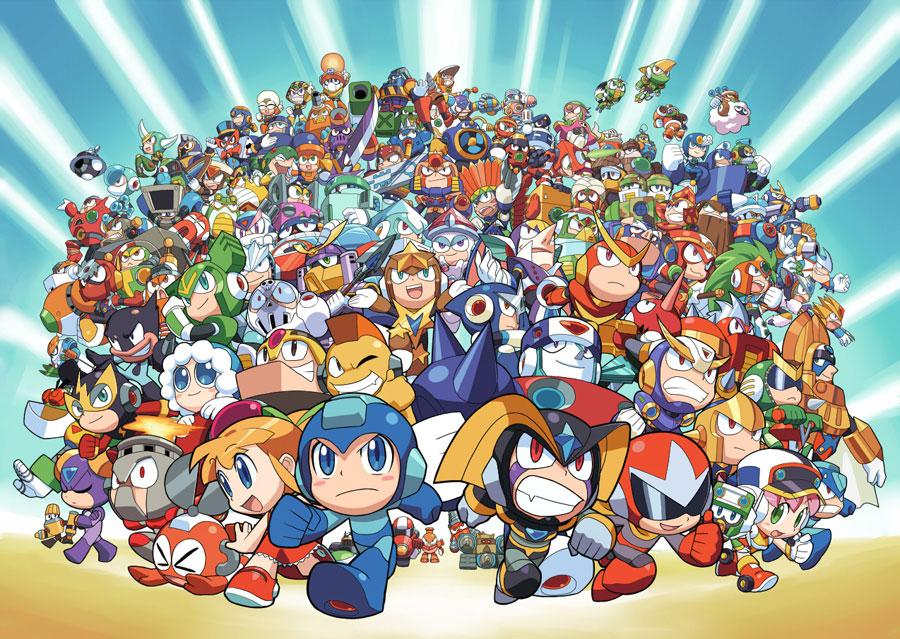 Mega Poster, un poster pour les fans de Megaman