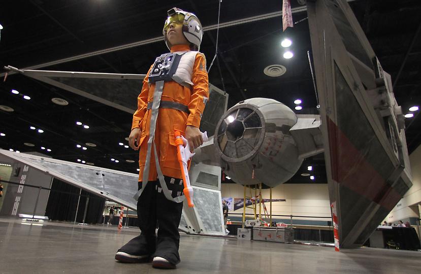 Star Wars Celebration V : Une Tie Interceptor