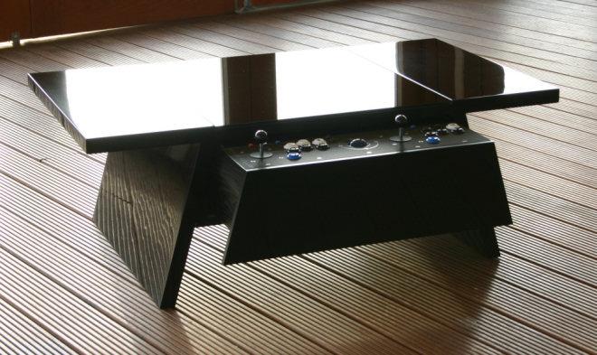 Une Table Basse Qui Fait Office De Media Center Et De