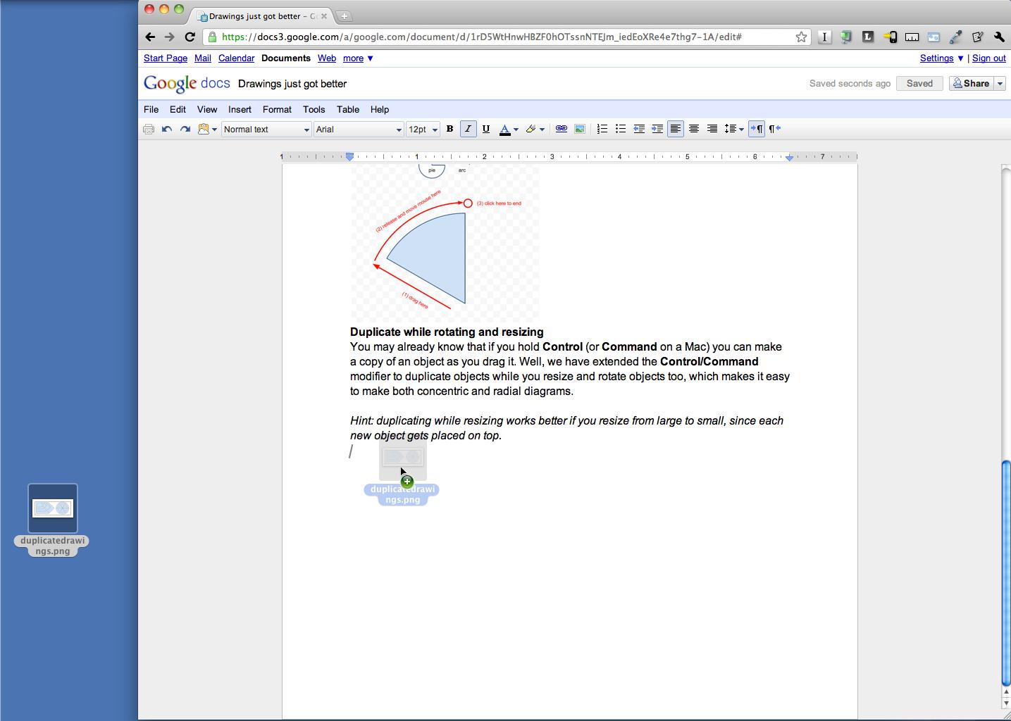 Une nouvelle manière d'insérer des images dans Google Docs