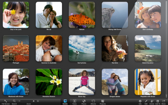 Mac os 10 7 lion lancement en t 2011 ios inside for Plein ecran photo mac