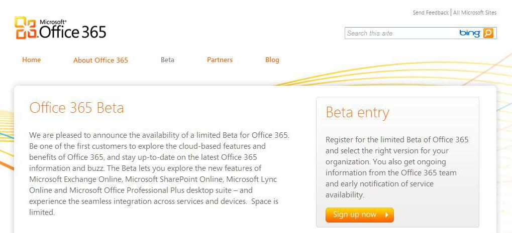Microsoft Office 365, la suite bureautique Office dans ton navigateur