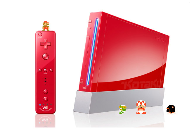 - Les jeux vidéos - Page 2 Wii-rouge-1