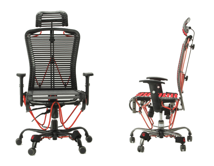 Gymygym une chaise de bureau pour faire du sport for Chaise youtubeur