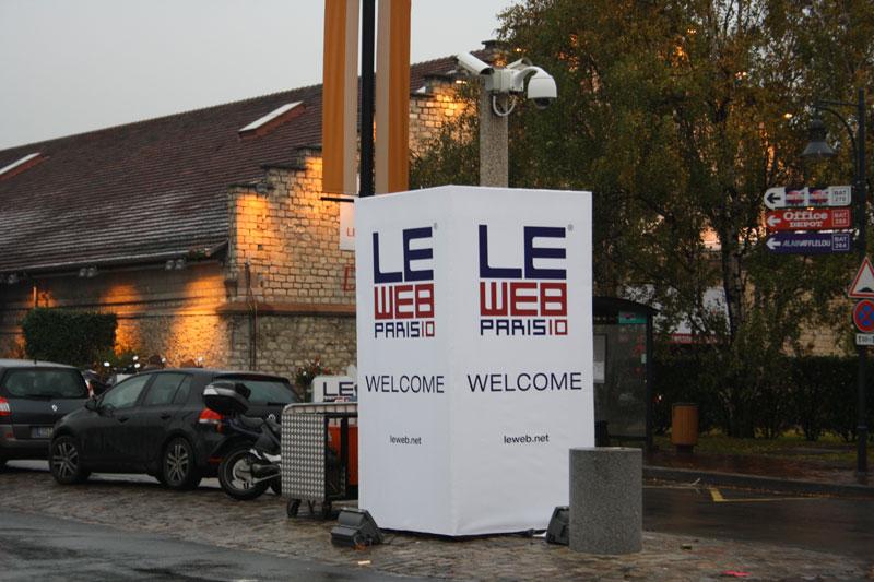 LeWeb'10 : premières impressions