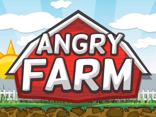 Angry Farm, un Angry Birds like pour BlackBerry