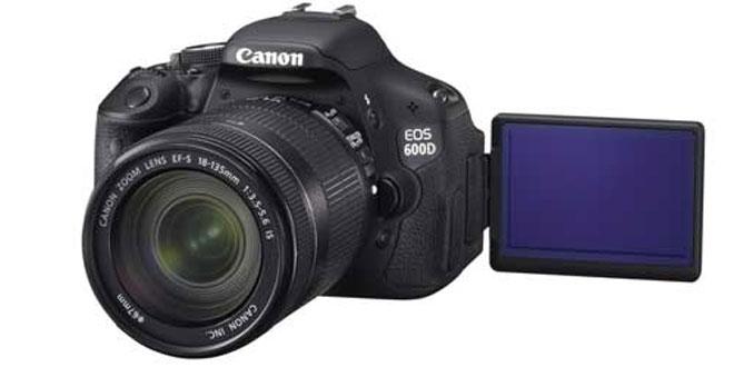 Canon officialise son EOS 600D