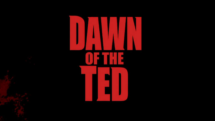 Dawn of the Ted : un ourson, des zombies, une vidéo