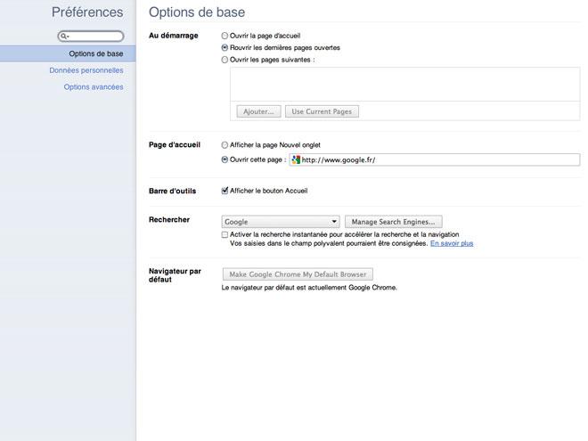 Google Chrome 10 est disponible en version bêta