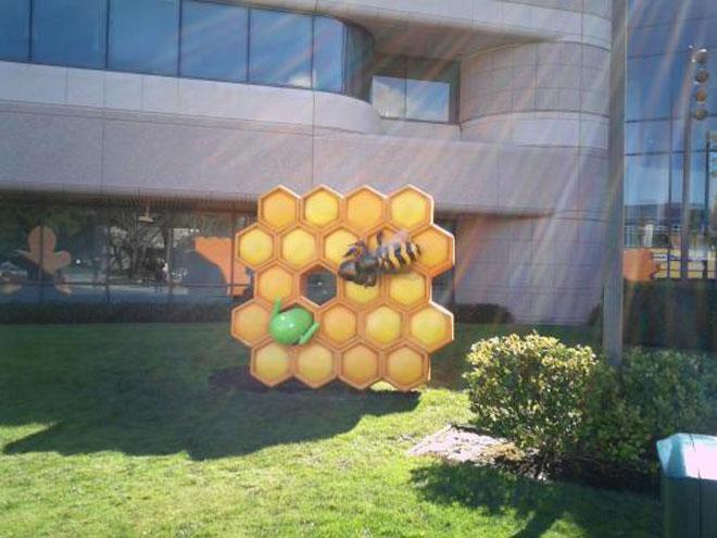 Honeycomb débarque sur le Google Campus