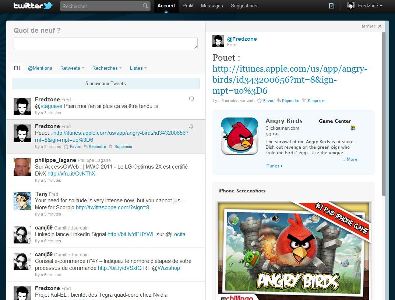 Twitter intègre maintenant l'App Store (ou presque)