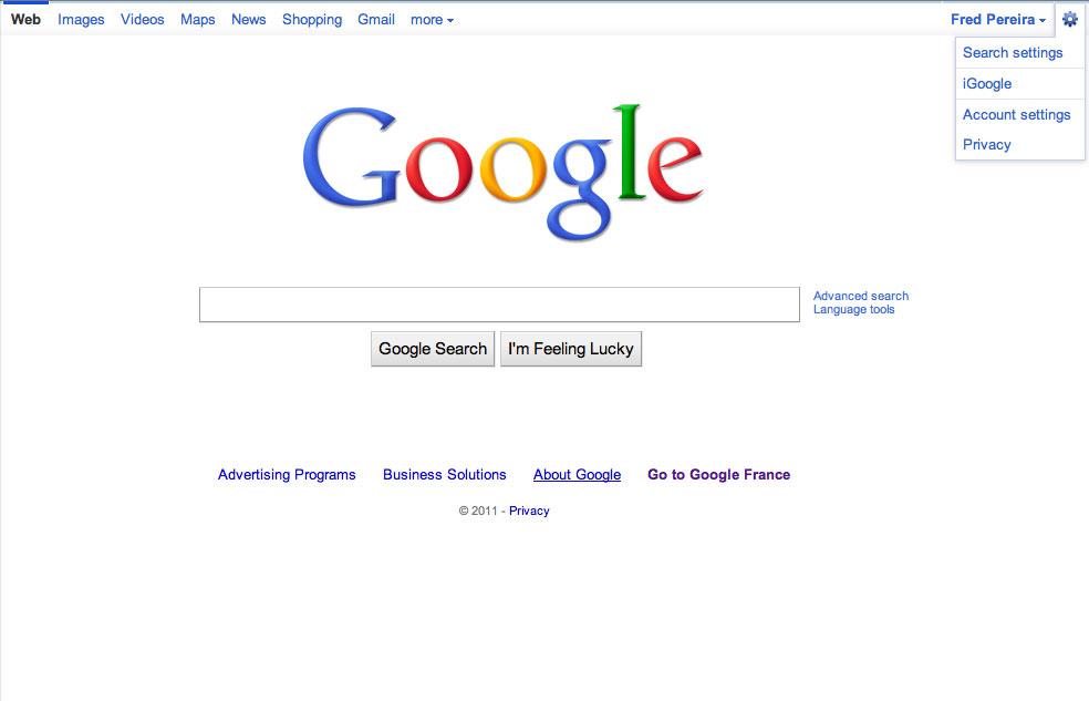 La nouvelle barre de Google est en cours de déploiement