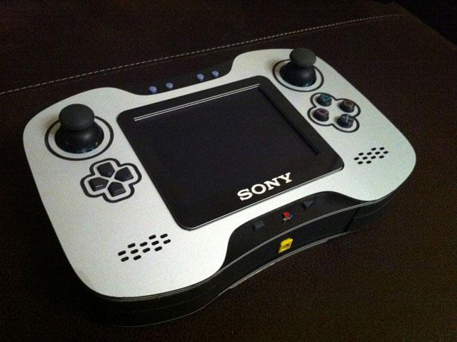 Un chouette casemod portable pour la Playstation 2