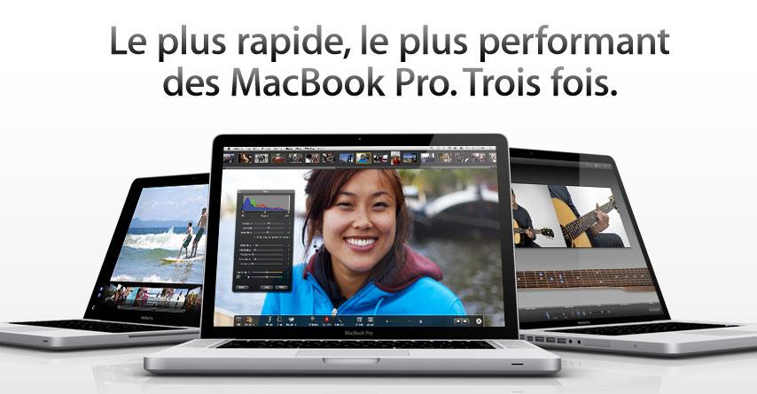 Nouveaux MacBook Pro : plus légers, plus fins, plus autonomes, moins cher ?