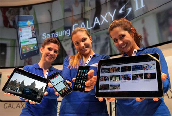 Samsung officialise son Galaxy S 2 et sa Galaxy Tab 2