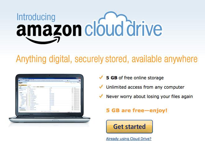 Amazon Cloud Player, la musique dans les nuages