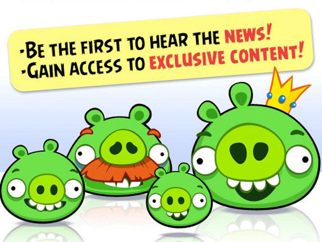 Angry Birds bientôt sur Facebook