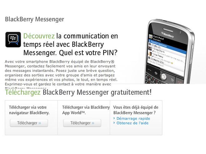 BlackBerry Messenger pourrait débarquer sur l'AppStore le 26 avril !
