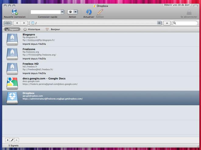 Cyberduck 4 : le client FTP compatible Mac, Windows et intégrant Dropbox