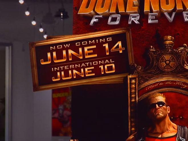 Duke Nukem Forever : la sortie (encore) retardée