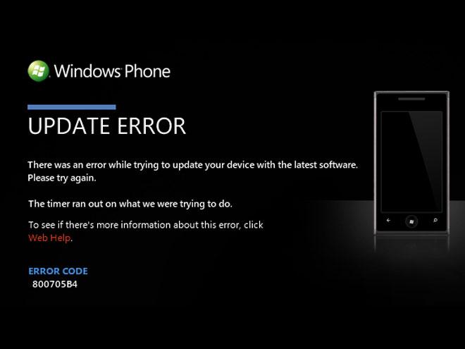 Mise à jour Windows Phone 7 : du mieux, mais encore des bugs